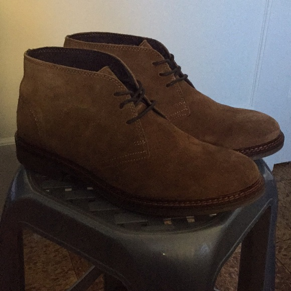 Used Alfani Brown Suede Boots